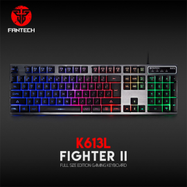 Tastatura Gaming Fantech K613L Fighter II crna